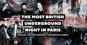 THE MOST BRITISH UNDERGROUND NIGHT IN PARIS