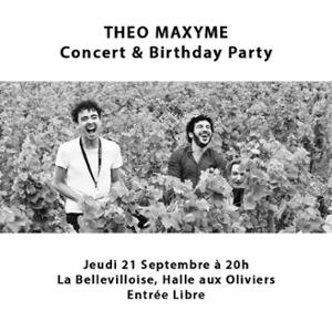 CAFE-CONCERT : THEO MAXYME