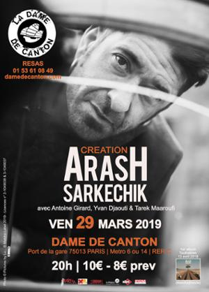 CARTE BLANCHE A ARASH SARKECHIK + INVITES