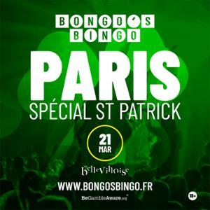 BONGO'S BINGO - SPECIAL SAINT-PATRICK