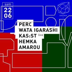 Concrete: Perc, Wata Igarashi, Kas:st, Hemka, Amarou
