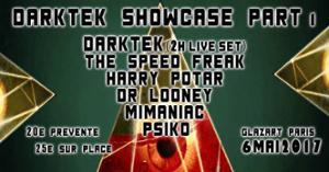 Darktek Showcase #1 w/ Darktek - The Speed Freak - Harry Potar