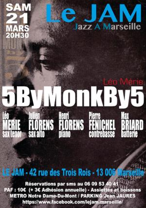 Léo Mérie 5ByMonkBy5 Quintet