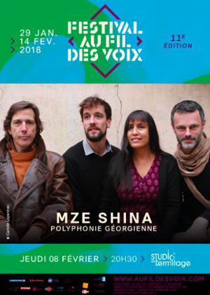 FESTIVAL AU FIL DES VOIX 2018 : MZE SHINA