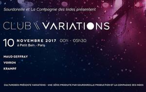 CLUB VARIATIONS : MAUD GEFFRAY • VOIRON • KRAMPF