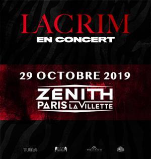 Lacrim • Zenith Paris - La Villette • 29 octobre 2019