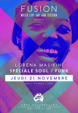 Fusion // Speciale Funk avec Lorena Maskini