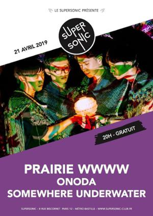 Prairie WWWW • Onoda • Somewhere Underwater / Supersonic (Free)