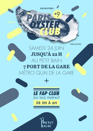 Paris Oyster Club #9