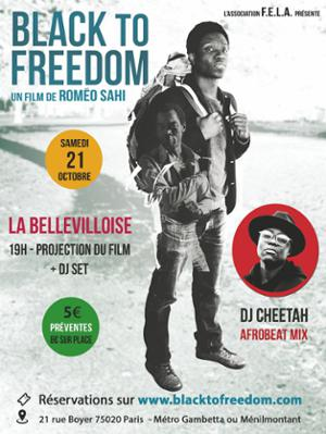 PROJECTION : BLACK TO FREEDOM