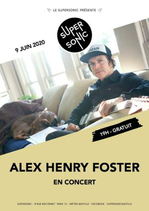 Alex Henry Foster and the long shadows en concert au Supersonic