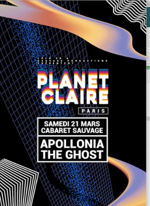 Planet Claire Paris: Apollonia & The Ghost