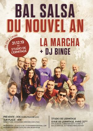NOUVEL AN SALSA AVEC LA MARCHA + DJ BINGE