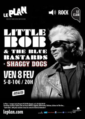 LITTLE BOB & BLUES BASTARDS + SHAGGY DOGS