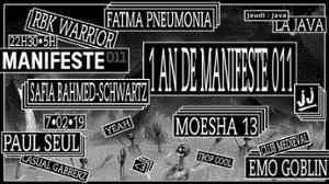 JJ & Manifeste011 - 1 an