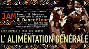 Jam & Dancefloor à l'Alim // 1ère Partie : Trio des Sports