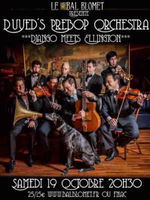 DUVED'S PREBOP ORCHESTRA – DJANGO MEETS ELLINGTON
