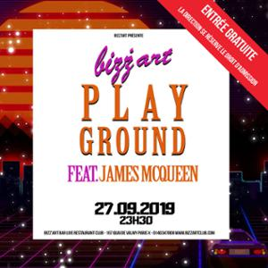 Bizz'Art Playground ft. James McQueen