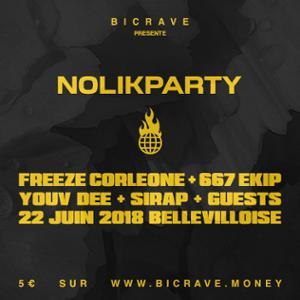 BICRAVE PRESENTE : NOLIKPARTY