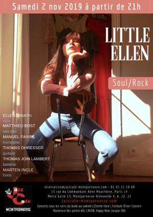 Little Ellen au Jazz Café Montparnasse