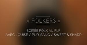 FOLKERS - Soirée folk au FLF - Forum Léo Ferré
