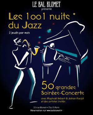 Les 1001 NUITS DU JAZZ - TheDuke Ellington Orchestra et la fraternité du souffle