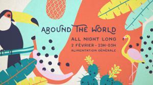 AROUND THE WORLD - All Night Long