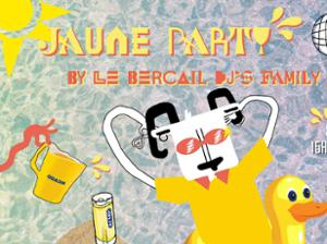 Jaune Party by le Bercail - Open Air