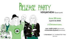 ☾ VĖRSįNTHË99 Release Party + Judith Judah, Emeraldia Ayakashi ☾