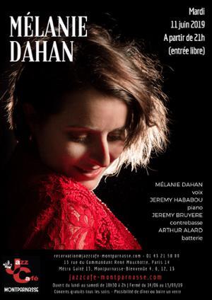 Mélanie Dahan au Jazz Café Montparnasse