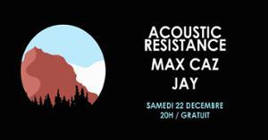 Acoustic Resistance • Max Caz • Floom / Supersonic - Free