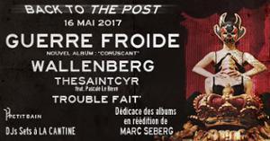 GUERRE FROIDE + WALLENBERG + THESAINTCYR + PASCALE LE BERRE (DJ SET)