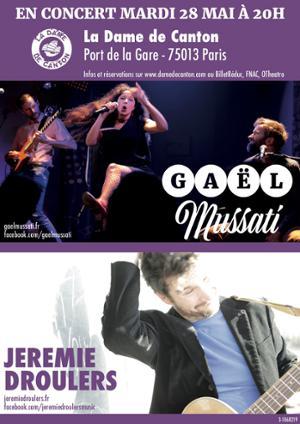 GAEL MUSSATI + Jérémie DROULERS