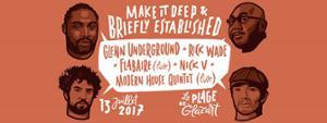La Plage : Glenn Underground Rick Wade Flabaire (Live) Nick V