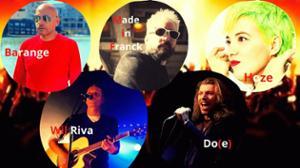 J'ai RDV avec BARANGE + MADE IN FRANCK + HOZE + WIL RIVA + DO(E)