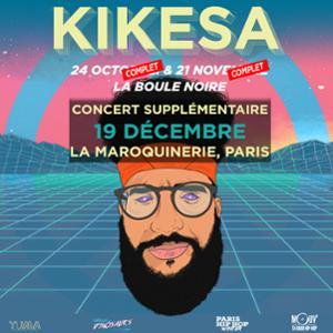 KIKESA • La Maroquinerie, Paris • 19 Décembre 2018