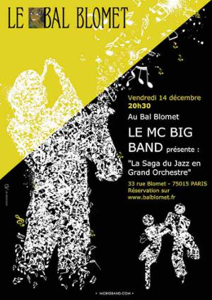 La Saga du Jazz en Grand Orchestre – M.C. BIG BAND