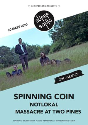 Spinning Coin • Notlokal • Massacre At Two Pines (Free)