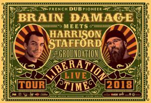 BRAIN DAMAGE MEETS HARRISON STAFFORD ( FROM GROUNDATION )