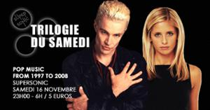 Trilogie du Samedi #20 // Nuit 90s 2000s du Supersonic