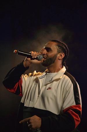 Ali en concert