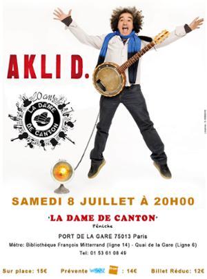 Concert : AKLI D. + 1ère partie