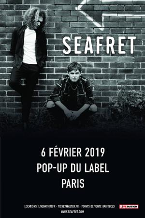Seafret // 06.02.19 // Popup!