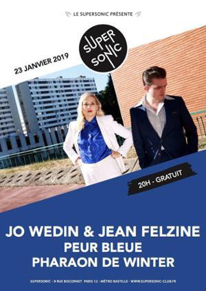 Carte blanche à Jo Wedin & Jean Felzine / Supersonic