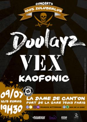 DOOLAYZ + VEX + KAOFONIC