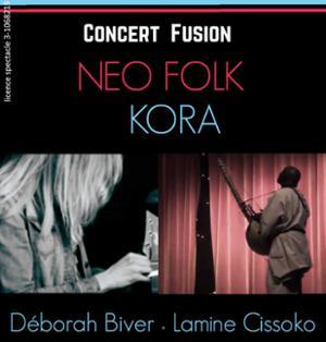 « KORA Musique et Néo Folk » par Déborah Biver et Lamine Cissoko