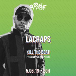 Concert • Lacraps + Kill the beat Freestyle Cypher • Paris