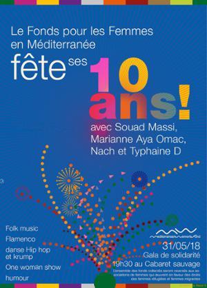 Fonds pour les Femmes en Méditerranée fête ses dix ans !