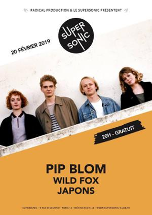 Pip Blom • Wild Fox • Japons / Supersonic (Free entry)