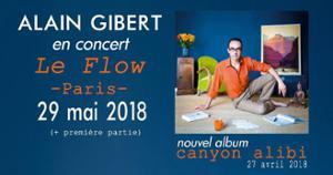 Alain Gibert au Flow Paris